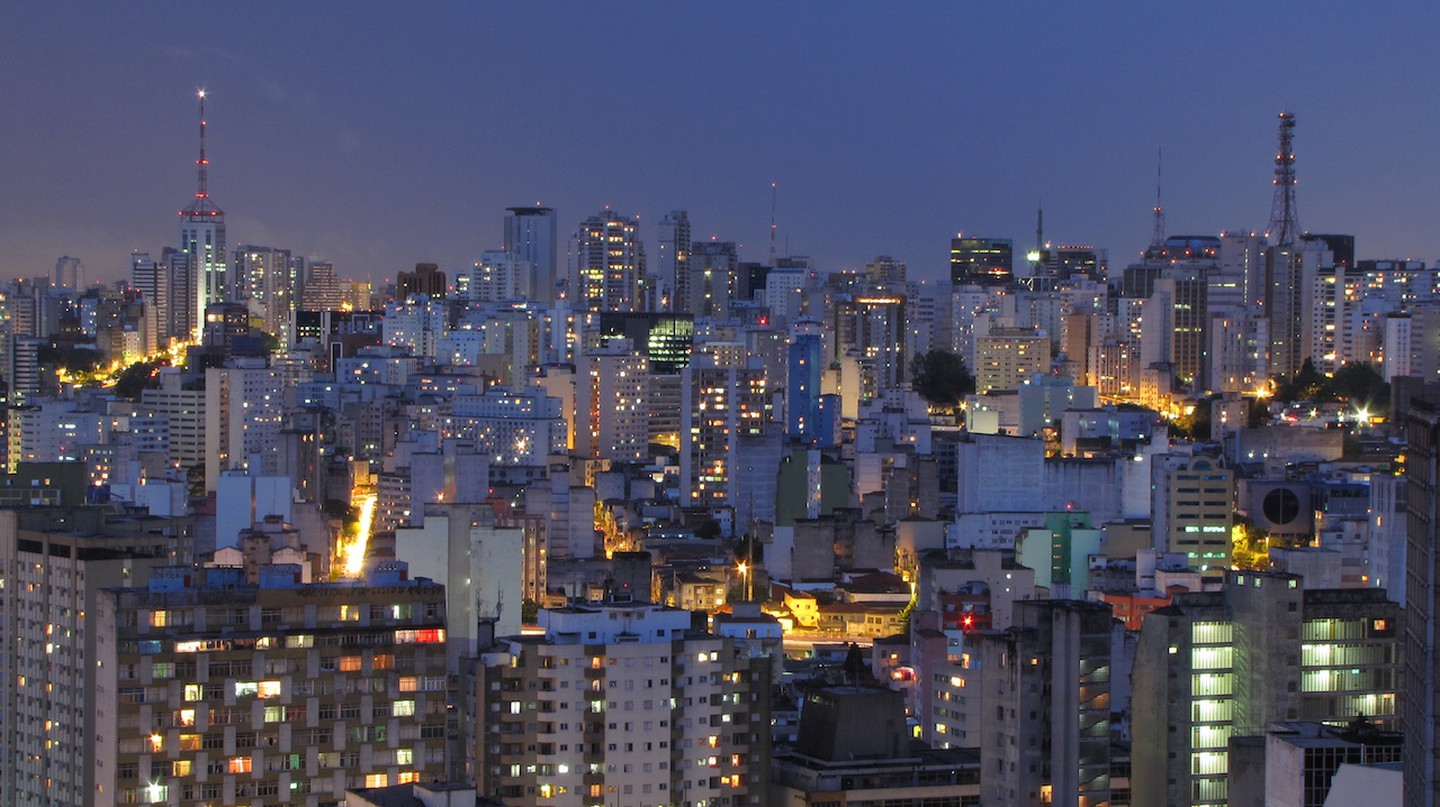 Panorama of Sao Paulo City © Julio Boaro/Flickr/CC