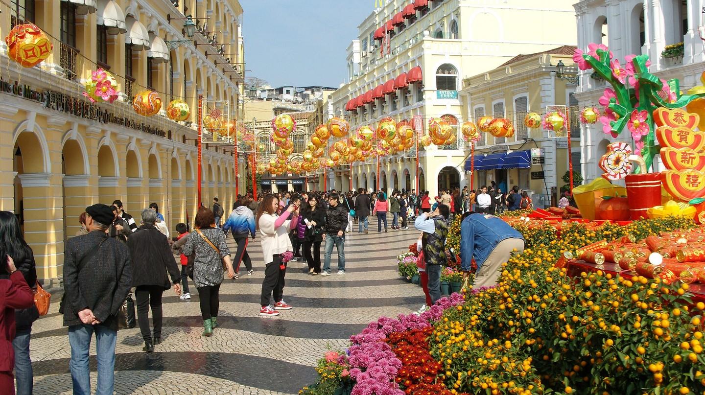 Senado Square Macau | © shankar s. / Flickr