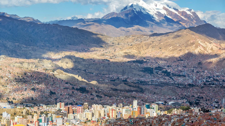 La Paz is a city in the clouds| © Jess Kraft/Shutterstock