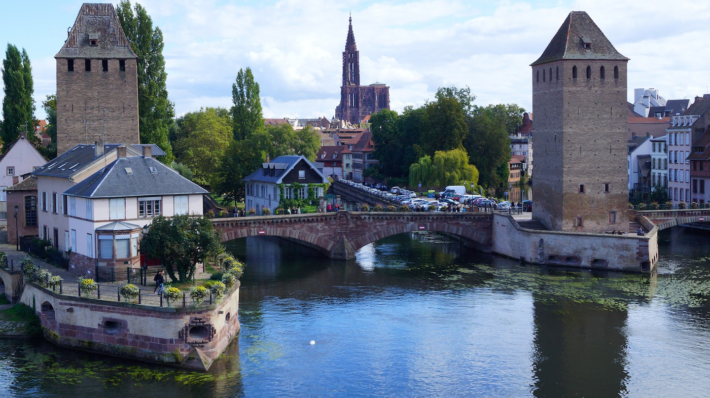 View of Strasbourg from the river Ill ©Randi Hausken / Flickr