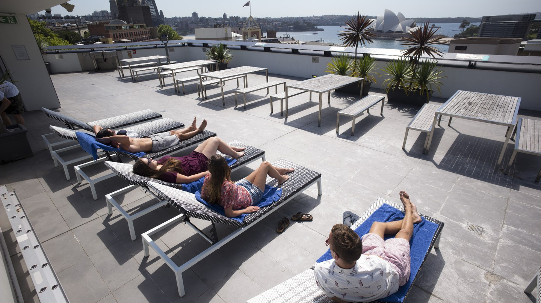 Sydney Harbour YHA Rooftop | © YHA Australia