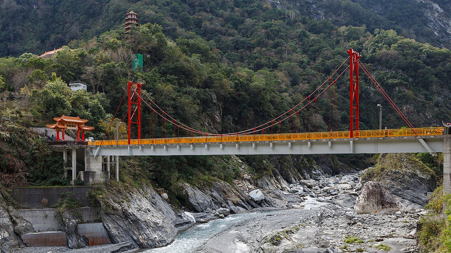 Pudu Bridge at Taroko Gorge | © CEphoto, Uwe Aranas