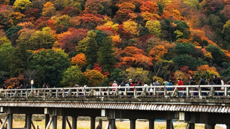 Togetsukyo Bridge ©  Agustin Rafael Reyes Flickr