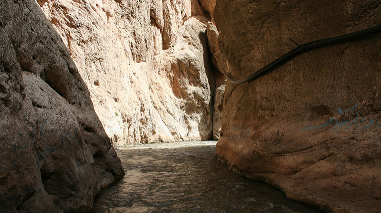 The narrow gorge of Tange Vashi | © Ninara / Flickr