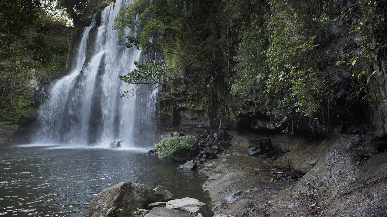 Waterfall in Costa RIca   © Kaitlyn Shea/Kaitlyn Shea Photography