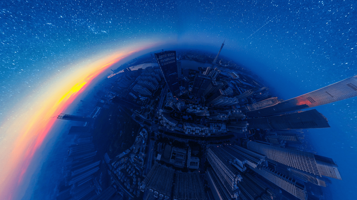 Professional - 360 - 1st - 'The Starry Night' |©	Jingwen Chen / SkyPixel