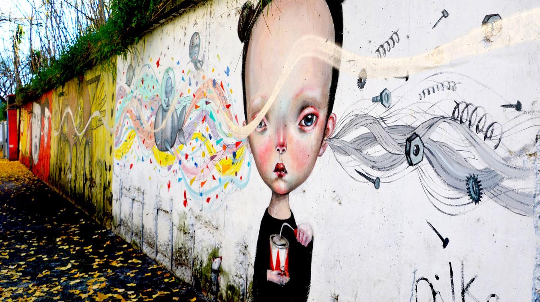 Dilka and Paolo Petrangeli, Untitled, 2014, Via dei Lentuli | © Lisa Morales