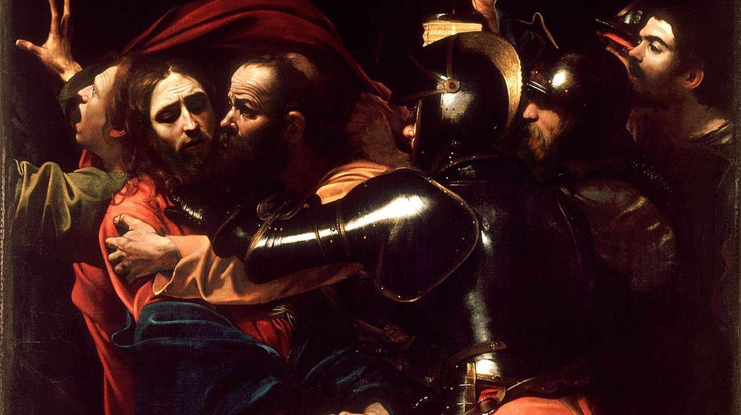 The Taking of Christ, 1602, by Caravaggio | Public Domain