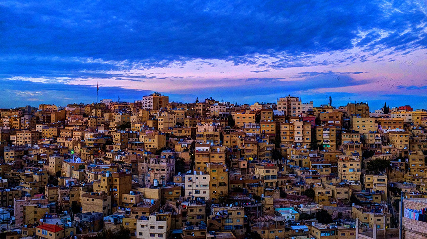 A Classical View of Amman © Mahmood Salam