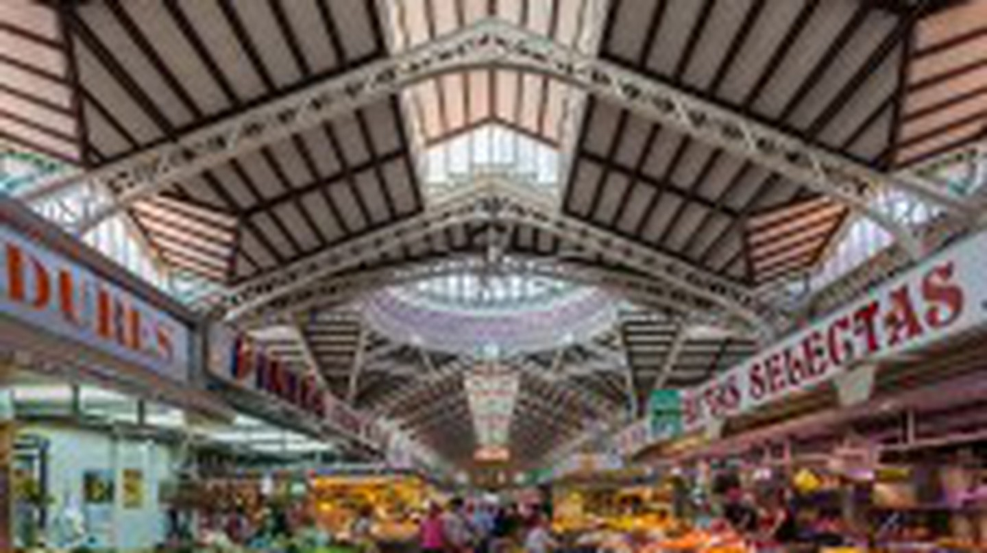 The Central Market of Valencia © Diego Delso/Wikimedia Commons