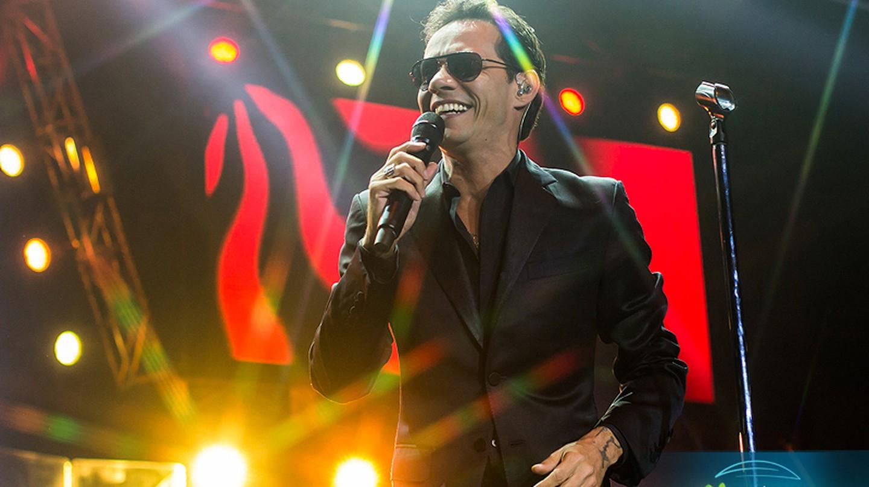 Popular Latin singer Marc Anthony   © Claudio Poblete/Flickr