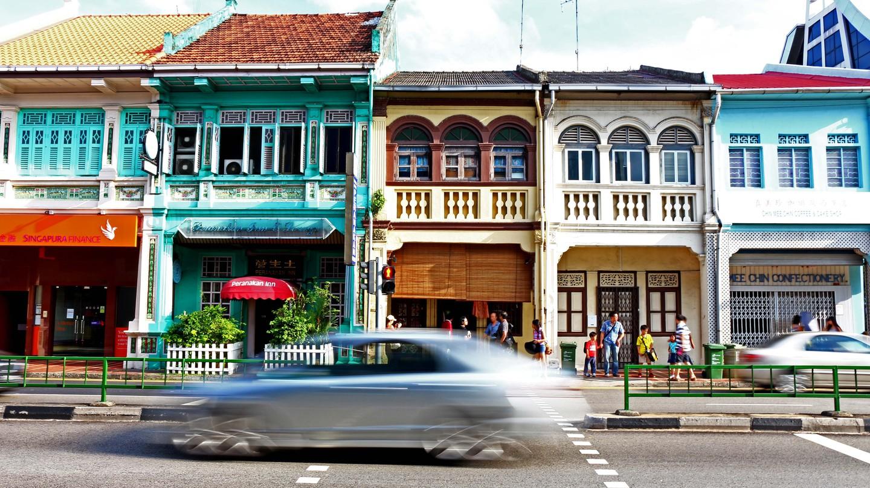 Peranakan Shophouses in Joo Chiat | © JUJUlianar/Flickr