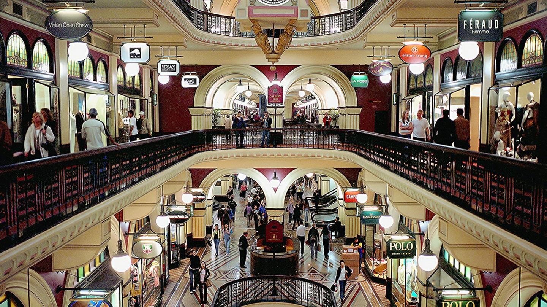 Inside the Queen Victoria Building Mall, Sydney   © Thomas Depenbusch/Flickr