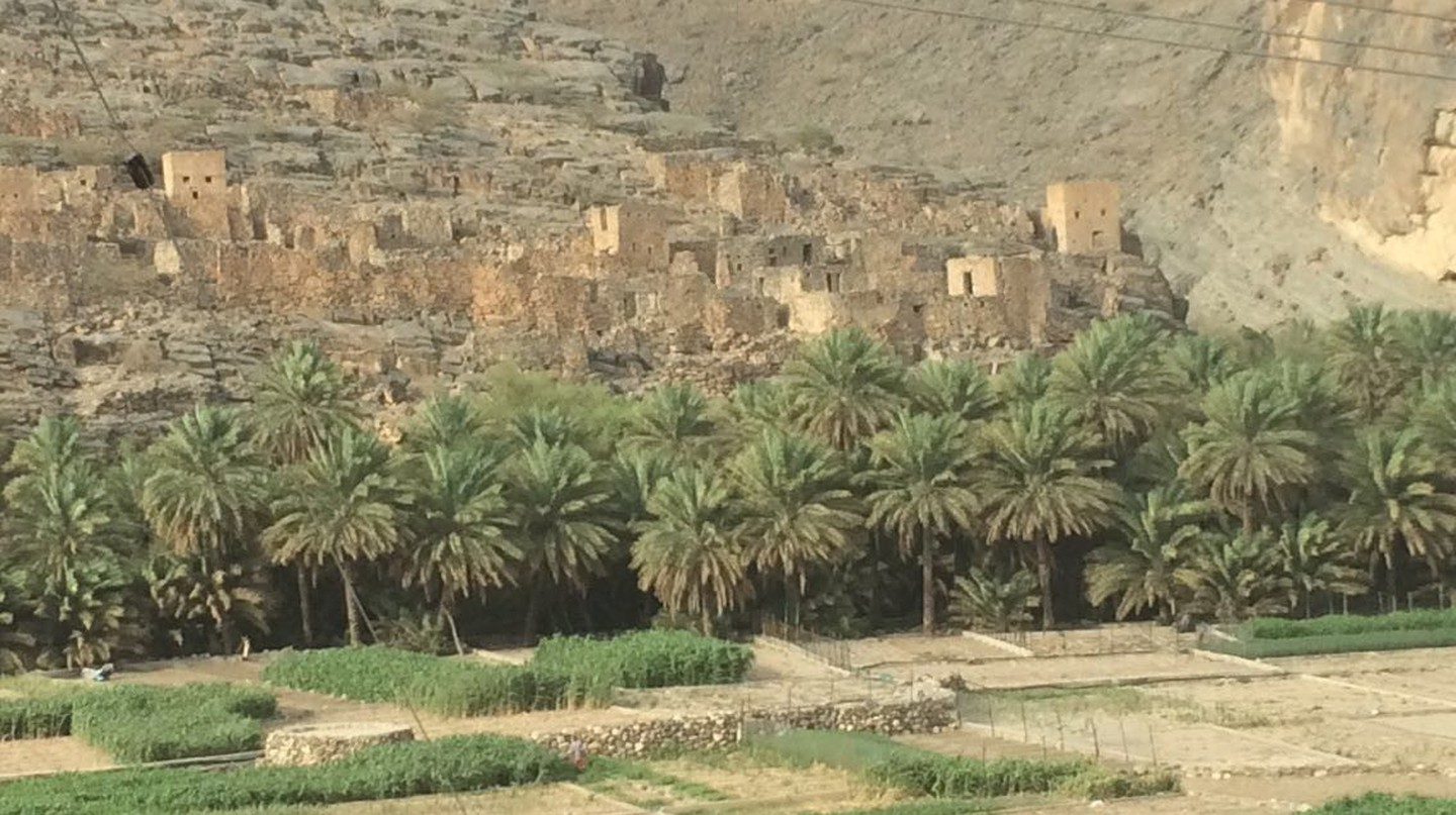 Ancient traditional Omani village | © Sharifa Al Badi