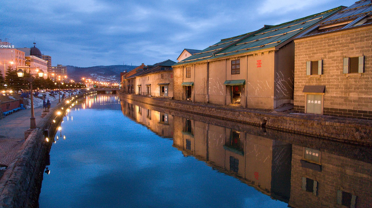 Otaru Canal at Dusk (HOKKAIDO/JAPAN) | ©Chi King / Flickr