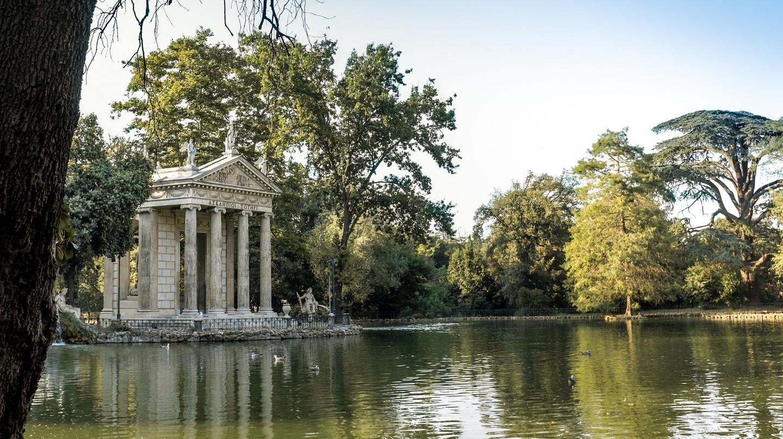 Lake at Villa Borghese | © carlosreusser/Flickr