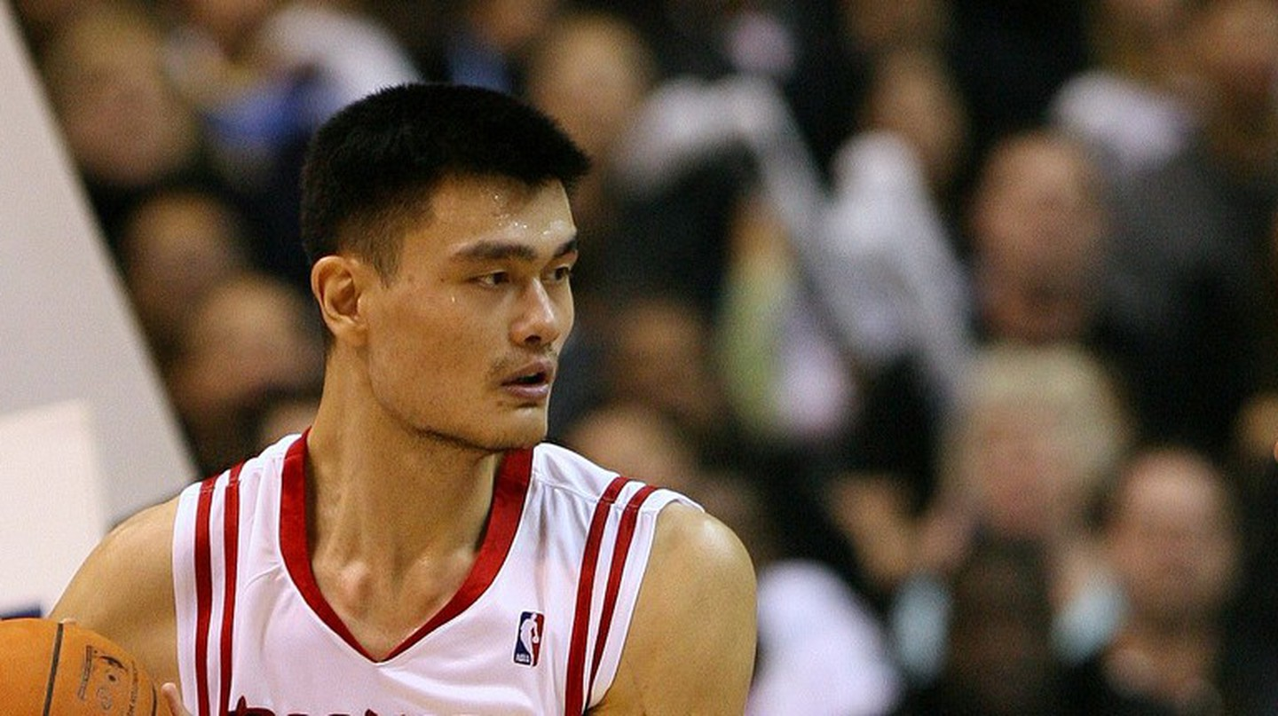 Yao Ming was instrumental in the promotion and growth of the NBA and basketball in China | © Flickr/Keith Allison