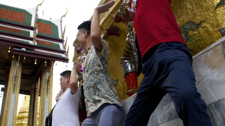 Wat Phra Kaew in Bangkok   © Courtesy of Kelly Iverson