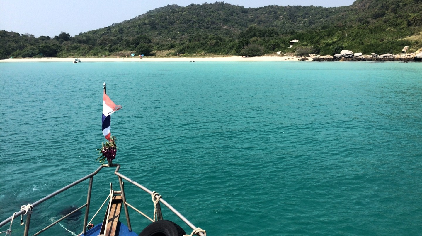 Boating off Pattaya  | © Courtesy of Kelly Iverson