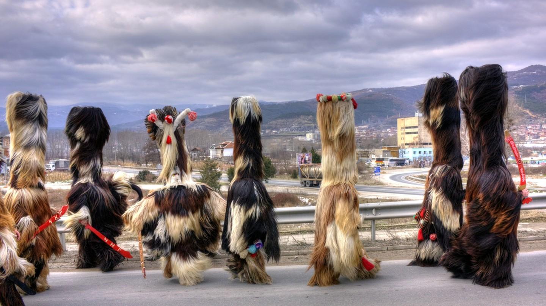Kukeri dance | © Klearchos Kapoutsis/Flickr