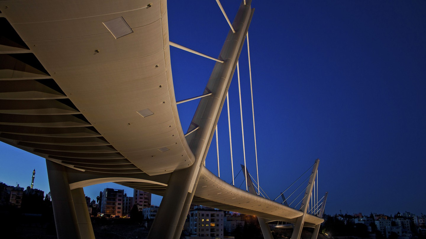 Wadi Abdoun Bridge | © Khaled Sharif