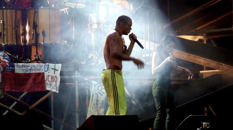 Calle 13 en Chile 2011 © Carlos Varela