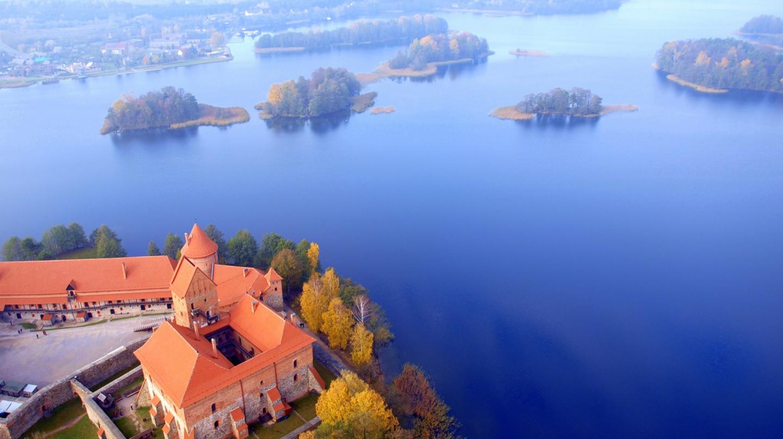 Trakai from Above | © Mindaugas Danys