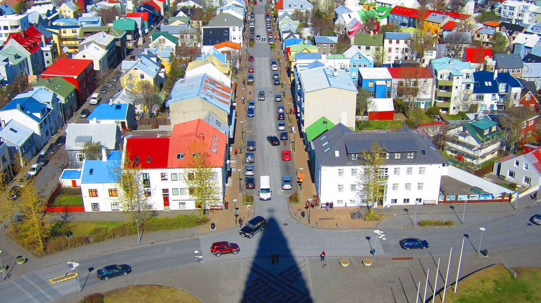 View of Reykjavik from Hallgrimskirkja | © Cali4beach / Flickr