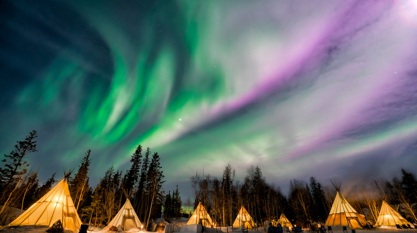 Aurora Village in Yellowknife | © Phung Chung Chyang / Shutterstock