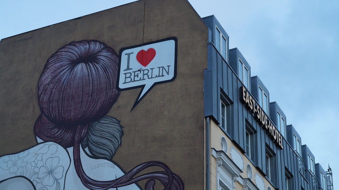 Berlin is a canvas for street artists | © bearinthenorth/Pixelbay