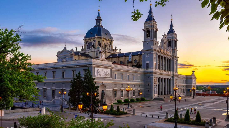 Cathedral Santa Maria la Real de La Almudena in Madrid, Spain  © Catarina Belova/Shutterstock