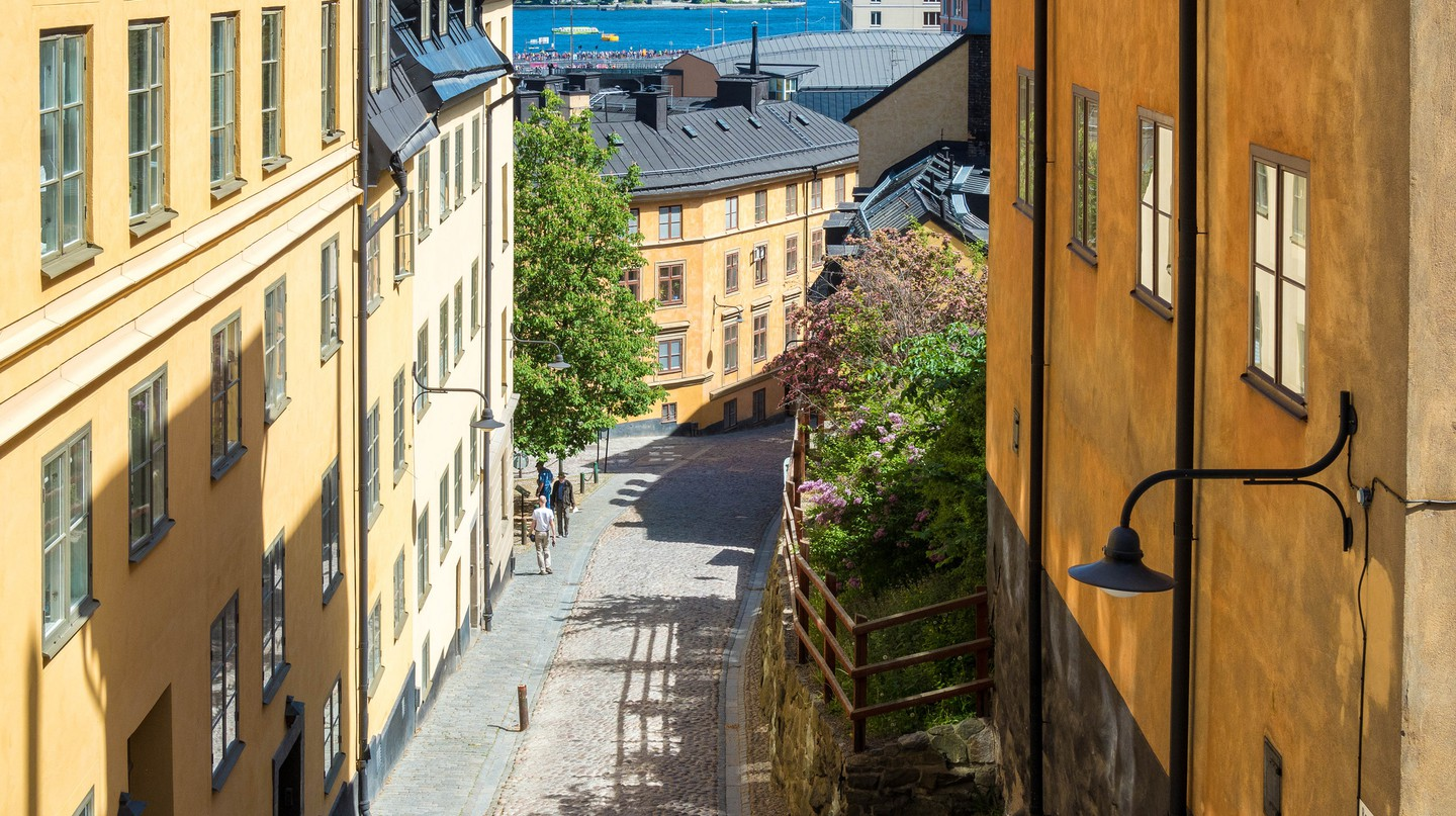The cool streets of Stockholm | ©chas B/Flickr