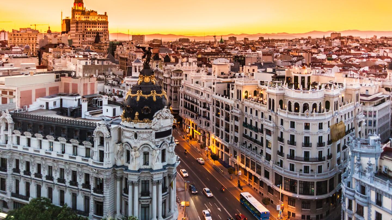 Gran Via, main shopping street in Madrid | © Matej Kastelic/Shutterstock