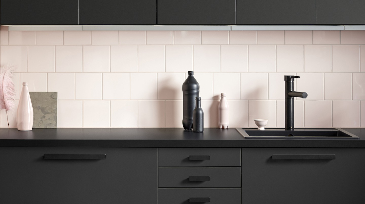 IKEA's New Must-Have Kitchen is Made From Recycled Plastic Bottles