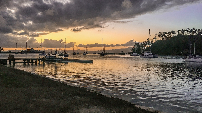 View out to the marina at Savusavu, Fiji | © Juliette Sivertsen