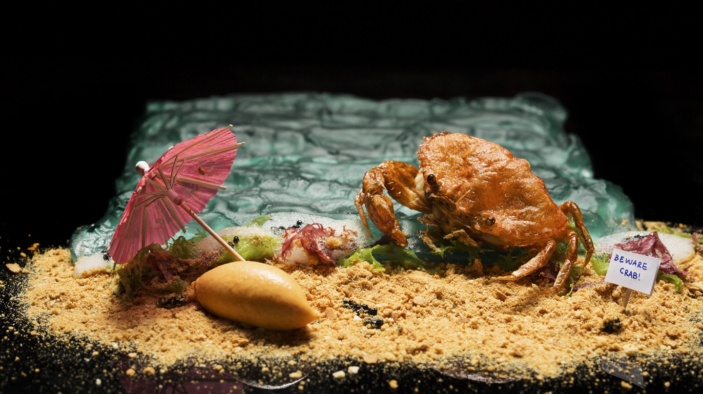 Labyrinth's Chilli Crab Ice Cream | Credit John Heng  Daphotographer | Courtesy of Labyrinth