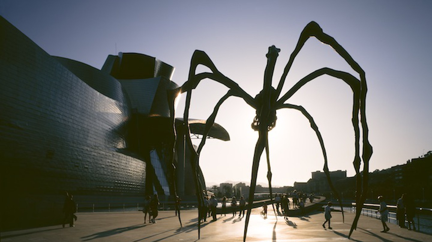 Maman by Louise Bourgeois | Courtesy of the Guggenheim Museum Bilbao