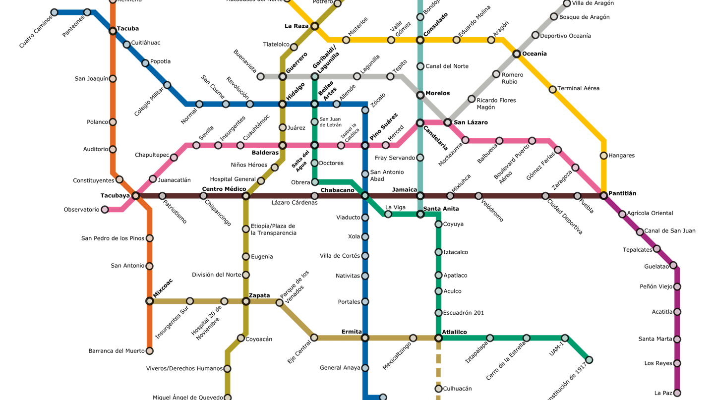 Metro map | © Fluence/WikiCommons