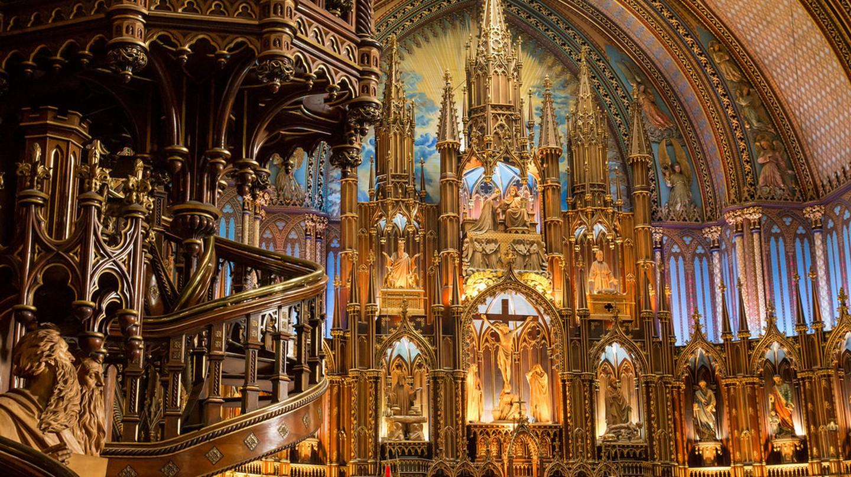 Inside the Notre-Dame Basilica | © GPS / Flickr
