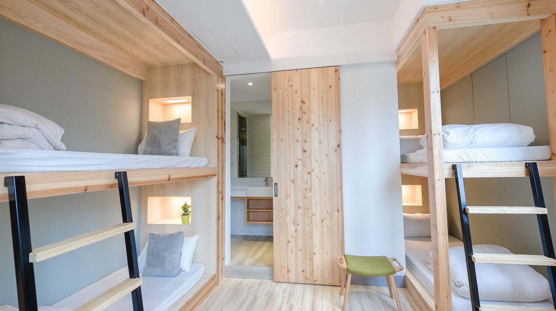Quad room in Meander Hostel | Courtesy of Meander Hostel