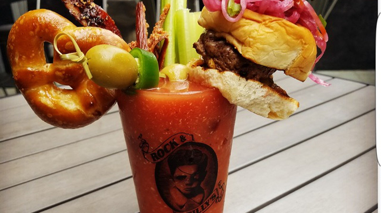 A Bloody Mary at Rock & Reilly's | Courtesy of Rock & Reilly's