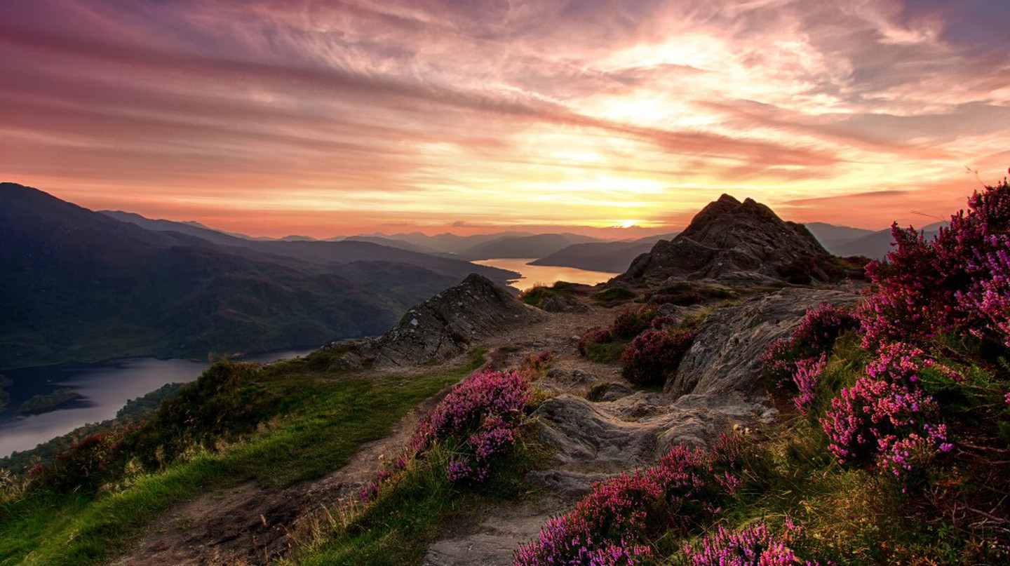 Ben A'an and Loch Katrine | © Andy Belshaw/Flickr