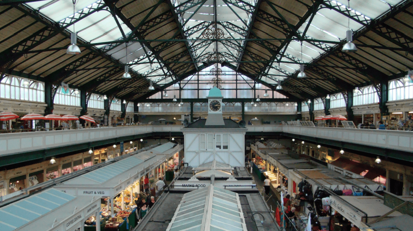 Cardiff Central Market |©Jon Candy/Flickr
