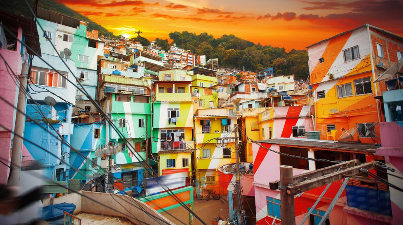 Santa Marta's painted houses | © Skreidzeleu/Shutterstock