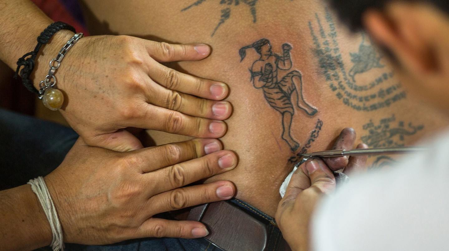 A sacred tattoo is inked on its receiver | © De Visu/ Shutterstock