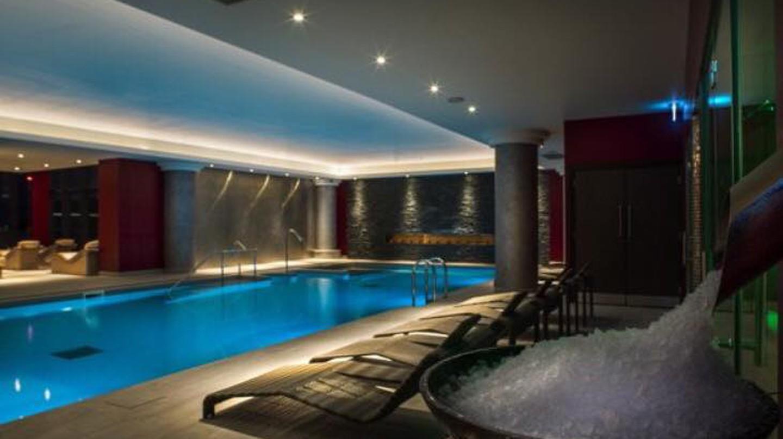 Spa pool at Santai Spa