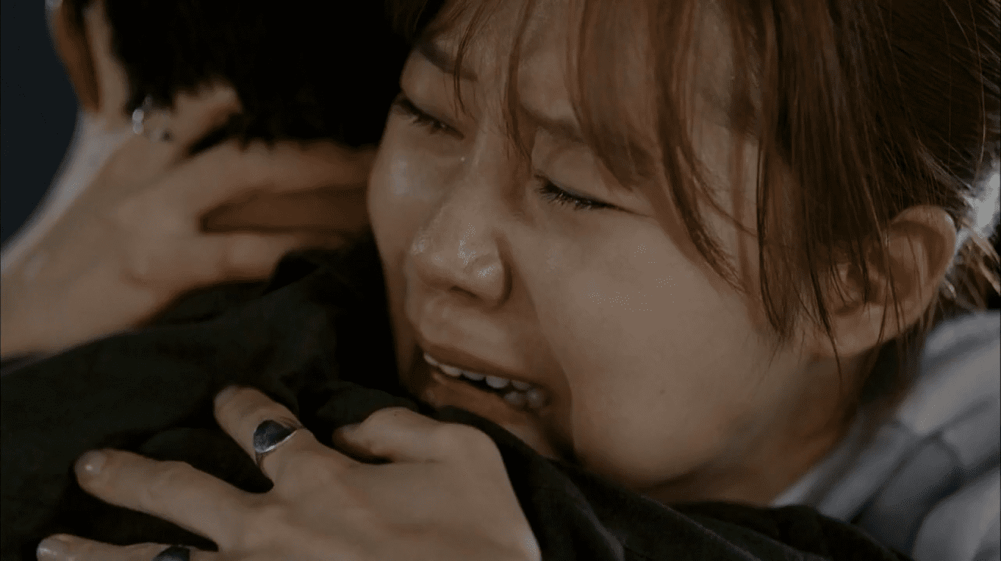 Actress Gong Hyo-jin sheds some serious tears in 'It's Okay, That's Love' | Courtesy of SBS