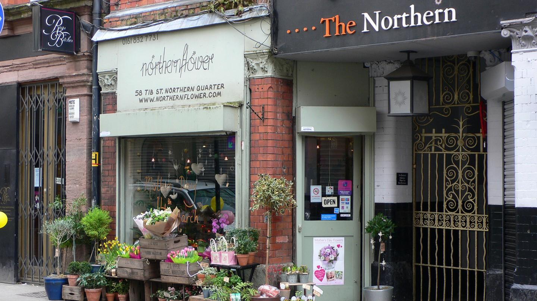 Northern Quarter shops | © Heather Cowper /Flickr