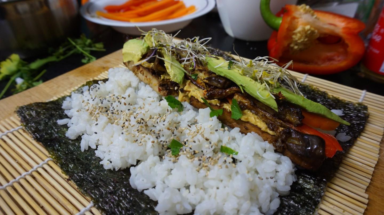 Vegan Eggplant Sushi | Courtesy of Max Pixel