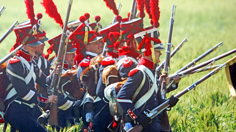 Waterloo reenactment | © Dennis Jarvis / Flickr